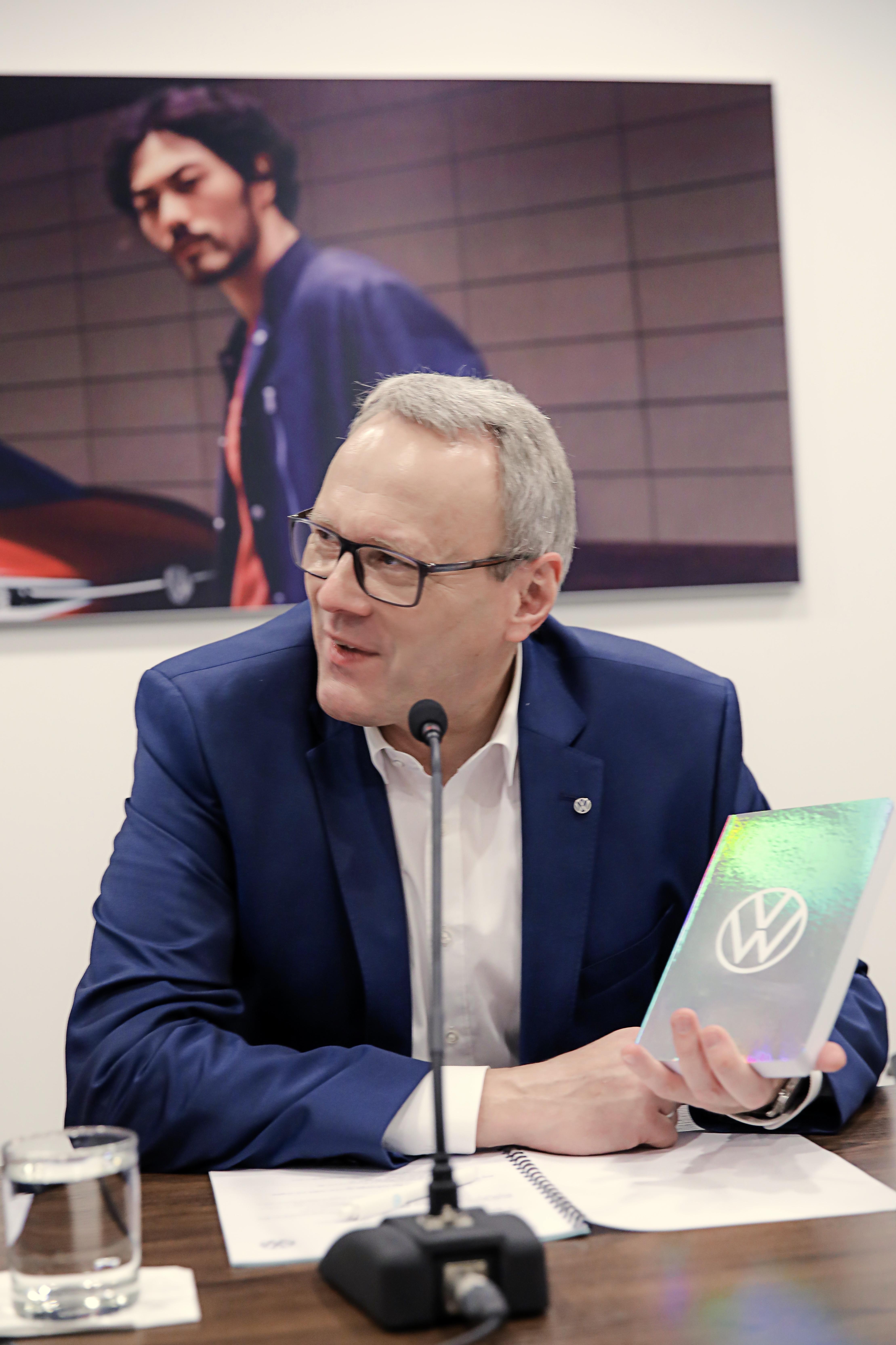大众汽车乘用车品牌管理董事会成员、大众汽车乘用车品牌中国CEO冯思翰