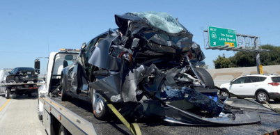 特斯拉Model S高速被追尾,致一女孩丧生