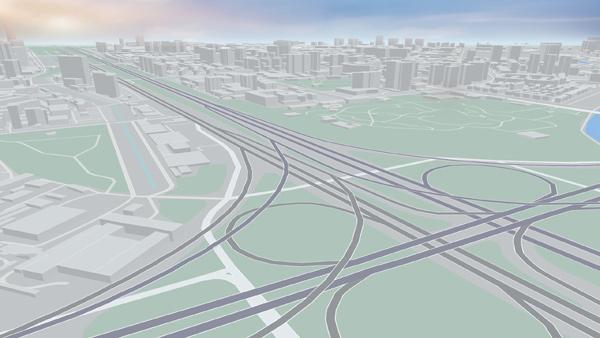 3D领航视角