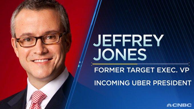 原美国领先零售商塔吉特(Target)的首席营销官CMO杰夫·琼斯