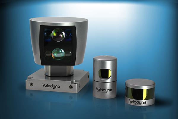 Velodyne的激光雷达产品阵列依然是各大主机厂、供应商测试自动驾驶技术的标配