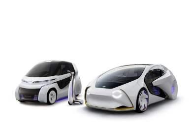 丰田推出两款i系列概念车 未来有望实现人车交流