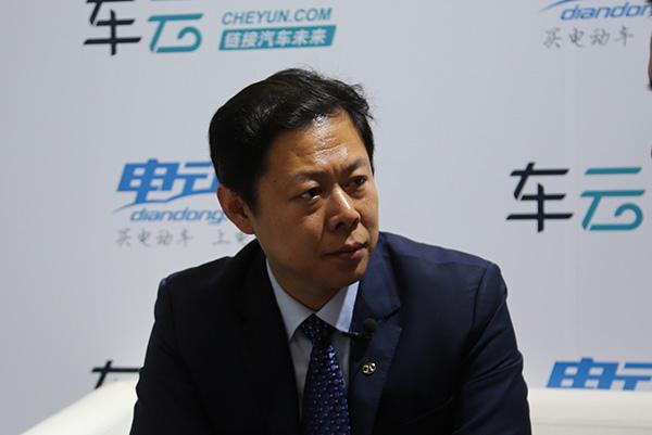 北汽新能源汽车总经理助理、品牌总监 金新
