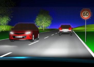 欧司朗研发用于智能头灯的新款混合式LED