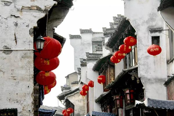 2008年7月20日摄于安徽省黄山市屯溪老街