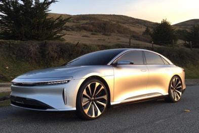 Lucid Motors旗下1000匹Air EV开始预售