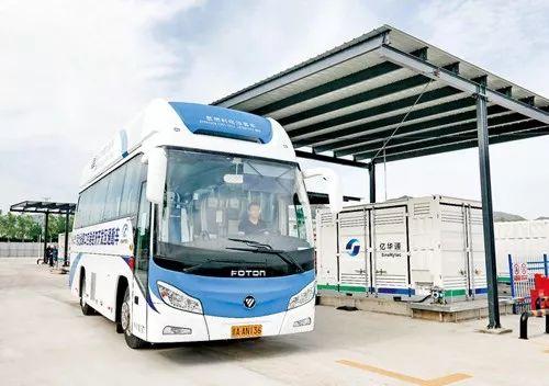 福田氢燃料电池公交