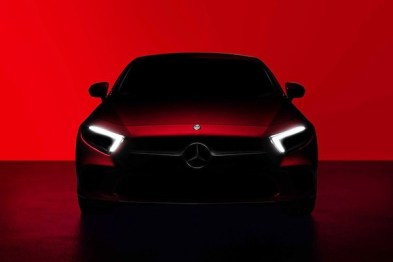 新款CLS官图曝光,将在洛杉矶车展发布