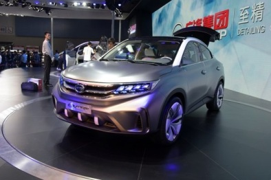 广汽传祺公布EV Coupe纯电动观点SUV,最高续航里程240公里