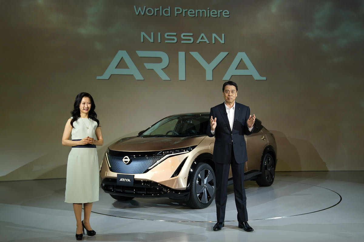 Ariya海外售32万元,日产汽车的全新篇章