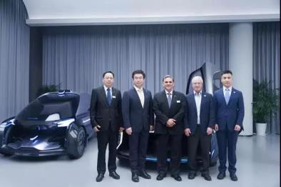 华人运通与陶氏化学在整车及电池展开合作
