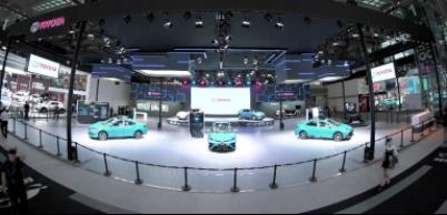 """切实推进""""电动车""""普及,丰田首款量产EV亮相深港澳车展"""