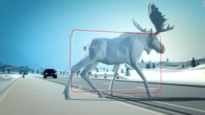 """不光是人,自动驾驶汽车还可能被""""一头鹿?#22791;?#25481;"""