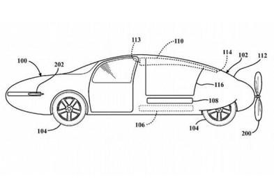 丰田飞行汽车专利申请文件曝光:可调节车体外板