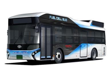 丰田在明年开售氢能源公交车,可用于紧急发电