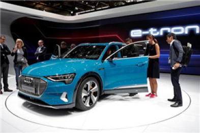 奥迪首款电动SUV开售时间推后4周