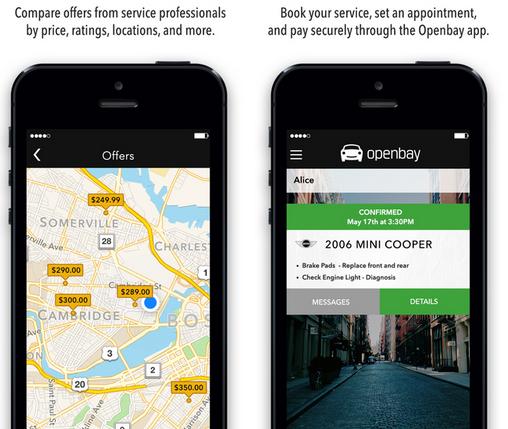 后市场O2O新蓝海:Openbay在线维修估价模式撬动Autozone
