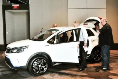 中國電動車品牌康迪在美推出兩款電動車