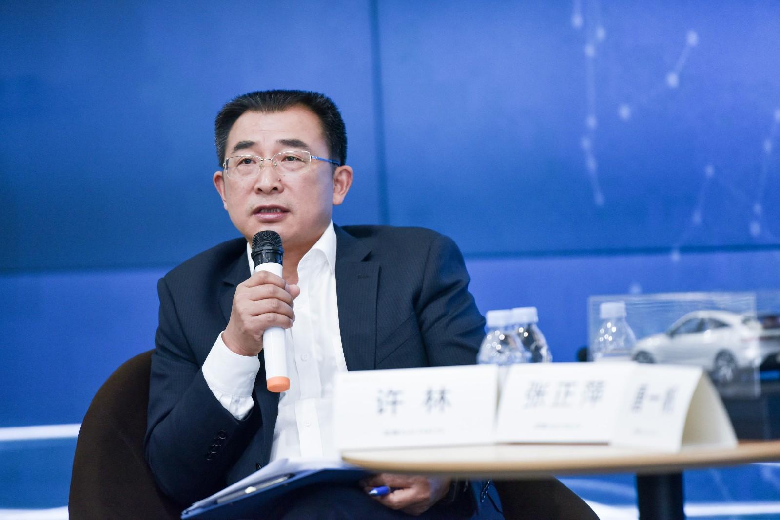 金康SERES副总裁兼CTO许林