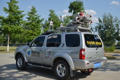 高德高精度地图采集车首次曝光:搭载激光扫描仪,成本近千万