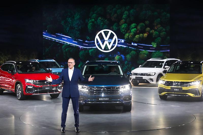 覆盖细分市场的SUV矩阵,要成为首选品牌的大众汽车