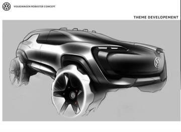 大众全新电动硬派 SUV 曝光,2022年正式推出