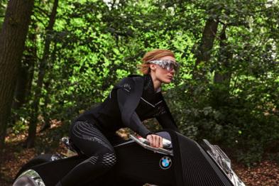 宝马发布电动自平衡概念摩托车Motorrad VISION NEXT 100