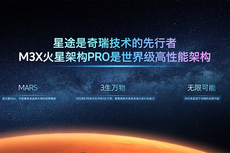 M3X火星架构PRO+凌云400T,四大升级让星途迈入3.0阶段
